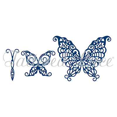 Tattered Lace Dies - Build a Butterfly Wondrous