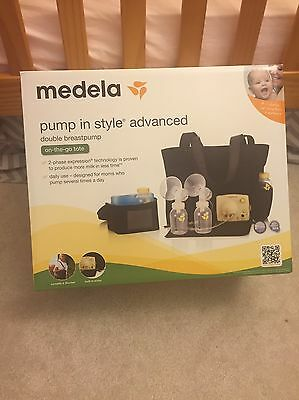 NEW, NIB Sealed Medela Pump In Style Advanced double breast pump on-the-go tote