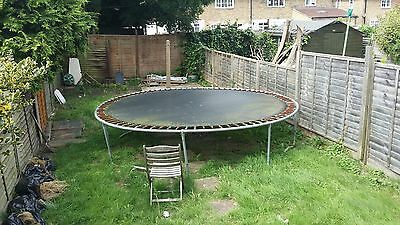 Trampoline  : Large Garden Trampoline 10ft Buyer collects from Bromley  BR1 4PD