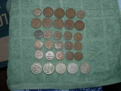 GREAT BRITAIN Lot of 30 Coins