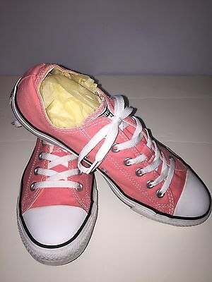 Women's Converse All Star Shoes - Coral Size 10