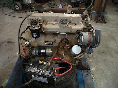 John Deere 4039 4 Cylinder Diesel Engine ONLY 1106 Original Hours