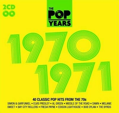 Various Artists : The Pop Years: 1970-1971 CD