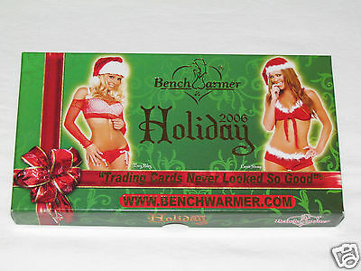 2006 BENCH WARMER HOLIDAY GIFT BOXED SET Complete Trading Card Set 24 Cards