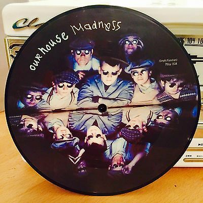 """Madness - Our House 7"""" Picture Disc Record Vinyl - Playtested = Excellent!"""