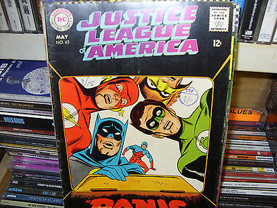 Justice League of America No. 62  Good Condition  May 1968
