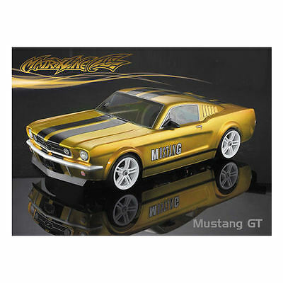 Matrixline Mustang Gt Clear Body 190mm With Accessories - PC201017