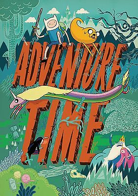 Adventure Time - A4 Glossy Poster -TV Film Movie Free Shipping #171
