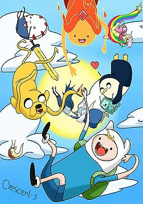 Adventure Time - A4 Glossy Poster -TV Film Movie Free Shipping #169
