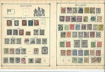 Great Britain 1840-1962 Collection on Scott International Pages, 20 Pages