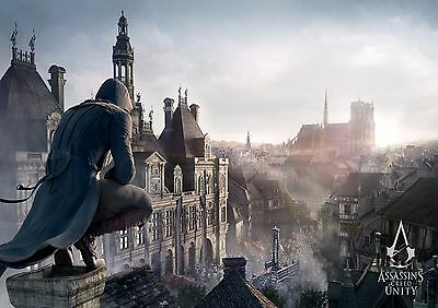 Assassin's Creed - A4 Glossy Poster - TV Film Movie Free Shipping #707