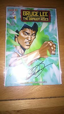 Bruce Lee The Dragon Rises Issue 1 Signed By Shannon Lee