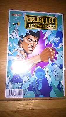 Bruce Lee The Dragon Rises Issue 1