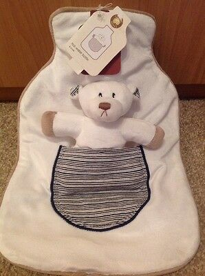 Charlie Bears Hot Water Bottle And Cover, New With Tags *SALE*