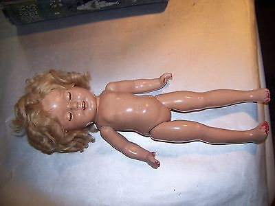 "L@@K VINTAGE ""13 SHIRLEY TEMPLE DOLL,  ideal,,,VERY OLD!!!!!"