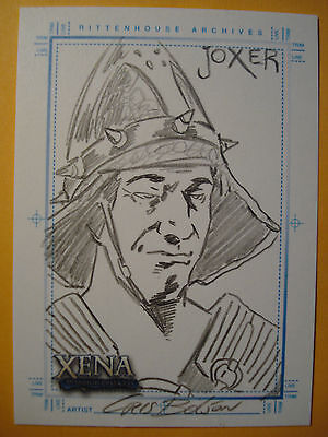 Xena Art and Images C Bolson Joxer