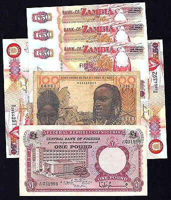 Africa Countries 7  NOTES   ( F - UNC )