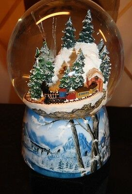 "Roman Inc. Musical Snowglobe ""I'll be home for Christmas"""