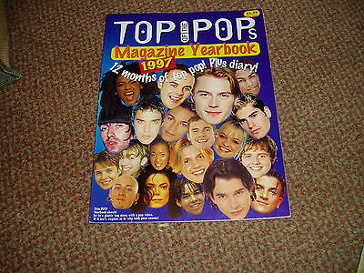 Top Of The Pops Yearbook 1997 Spice Girls,bjork,boyzone,ant And Dec