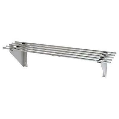 Wall Shelf, Pipe, Stainless Steel, 1200x300x300mm, Commercial Shelving / Shelves