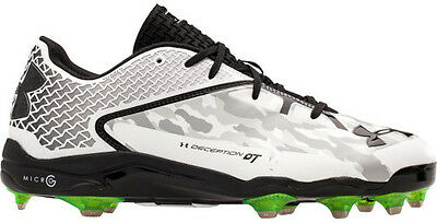 Under Armour Freak Low St Baseball Cleats Black White 1250040 Sz 9 SAMPLES A3