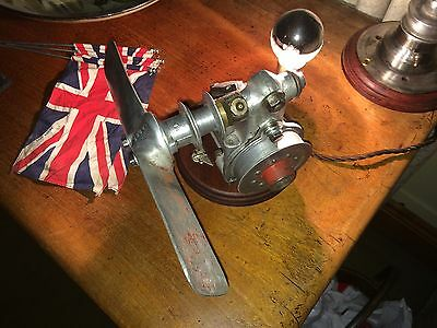 Vintage Steampunk Lamp made from AUSTIN 7 SEVEN parts