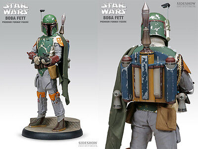NEW Boba Fett Premium Format Statue by Sideshow Star Wars FACTORY SEALED