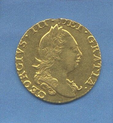 George Iii Gold Half Guinea 1777 High Grade