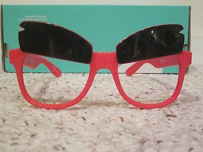 NIP Angry Birds Costume Game Movie Eye Wear Glasses Red Eyebrows Limited Edition