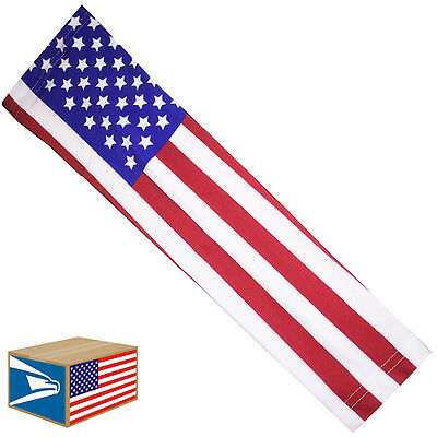 COMPRESSION ARM ELBOW SLEEVE USA United States American Flag YS/YM/YL/S/M/L/XL