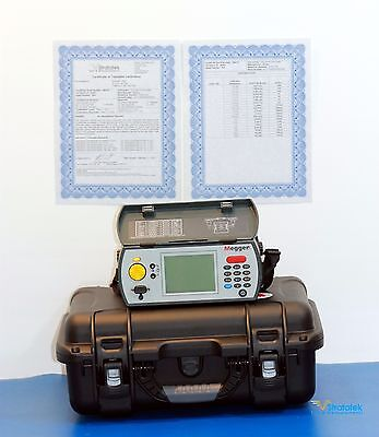 Megger Biddle DLRO10x Digital Low Resistance Ohmmeter NIST Calibrated with Data