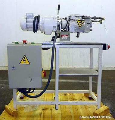 Used- Amasadora Lab Style Sigma Mixer, Type AMHHAC15, Approximate 0.25 Gallon Ca