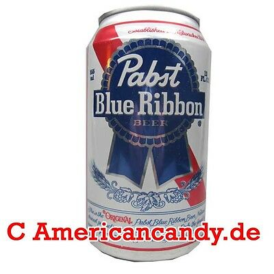 Amerikanisches Bier:  12x 355ml Pabst Blue Ribbon US Lager Beer (7,04€/l)