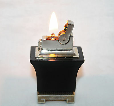 """Vintage ASR  """"Pagoda Style""""Table Lighter In Working Condition"""