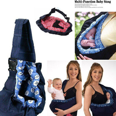 Baby Infant Newborn Adjustable Carrier Sling Wrap Rider Backpack Pouch Ring New