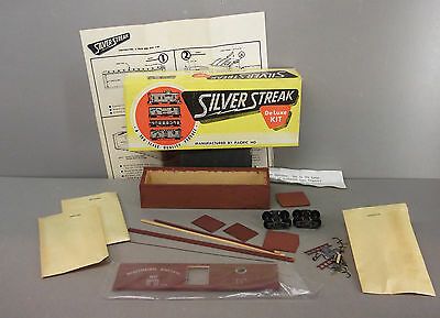 Silver Streak HO Scale Train - Box Car Kit - Nothern Pacific - (Started)