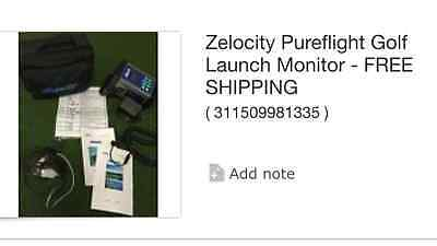 Zelocity Pure Flight Launch Monitor