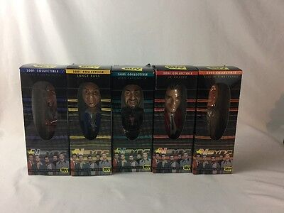 5 2001 Collection of NSYNC Bobble Head Set Exclusively From Best Buy all in box