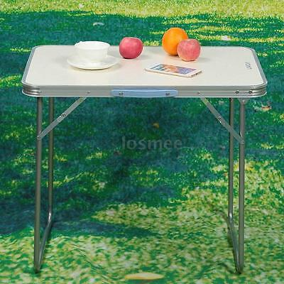 2FT Folding Table Indoor Outdoor Picnic Party Dining Camping Desk Portable I3B6