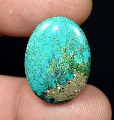 14.55 Cts. 100 % Natural Tibet Turquoise Oval Cabochon Loose Gemstones