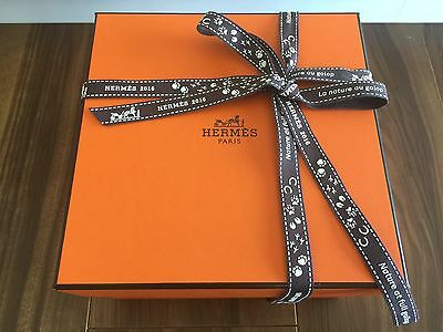 """Authentic HERMES empty Cup Box 6.6""""6.6""""4.3"""""""