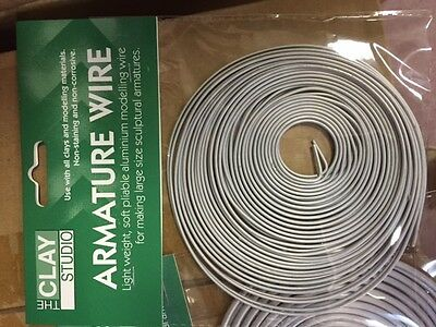 Jack Richeson  Style Aluminum Armature Wire, 1/16-Inch by 20Feet-$23.99 FOR 6