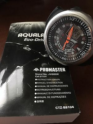 CITIZEN PROMASTER AQUALAND ECO-DRIVE Divers Watch