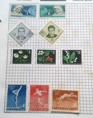 BULGARIA  -   VARIETY OF STAMPS - pre 1975