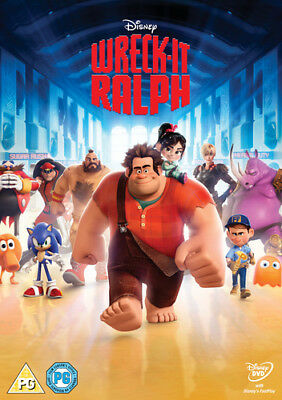 Wreck-it Ralph DVD (2013) Rich Moore cert PG ***NEW*** FREE Shipping, Save £s