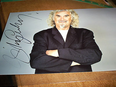 Billy Conolly. Film/tv. Comedian. Authentic Hand Signed. 9 Inches By 6 Inches.