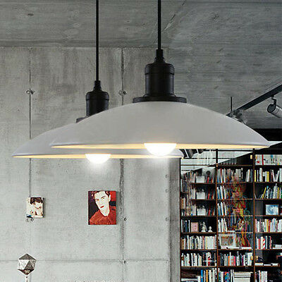 Modern Shade Vintage Retro Metal Lampshade Chandelier Ceiling Lamp Pendant Light
