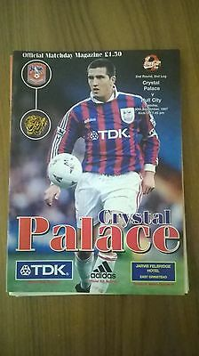 Crystal Palace v Hull City - 30/9/97 - Coca Cola Cup 2nd Round 2nd leg