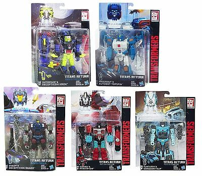 Hasbro Transforme​rs Generation​s Titans Return Deluxe Class Figure Wave 4