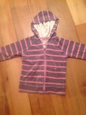 Striped Mini Boden Hoodie 4-5y